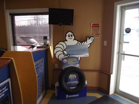Michelin Display